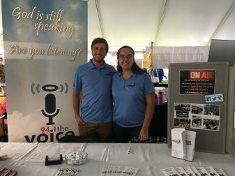Ryan and Emily at NNU Community Fair