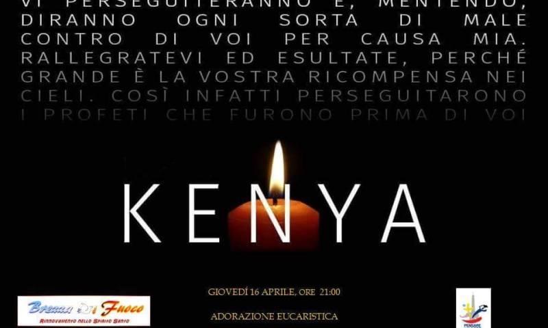 La strage in Kenya: incontro di preghiera promosso dall'Arcidiocesi di Catania