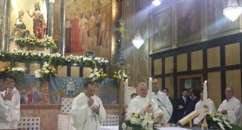 """Don Vito Mandarano: """"L'amore di Maria occorre manifestarlo nelle famiglie"""""""