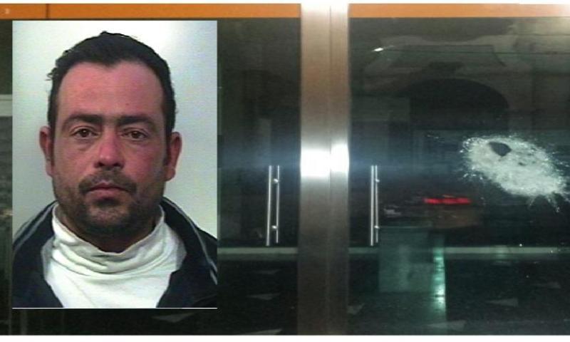 Prova a sfondare la vetrina di Angiolucci: inseguito ed arrestato dai carabinieri