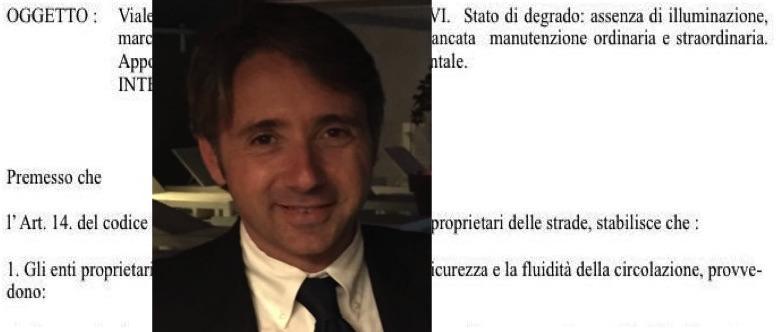 Corse di scooter, assenza di tombini e buio: viale Unità d'Italia resta un pericolo