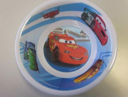 Coop richiama la scodella Cars per bambini