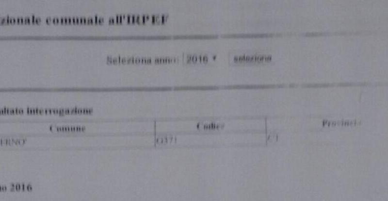 """L'annuncio di Virgolini: """"L'addizionale ridotta allo 0.4%"""""""