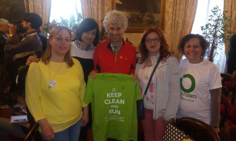 """KEEP CLEAN RUN"" DOMANI IN PIAZZA NASSIRYA"