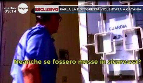 """TRECASTAGNI: DOTTORESSA VIOLENTATA DENUNCIA: """"CHI MI HA ESPOSTO AL RISCHIO NON PAGA"""""""
