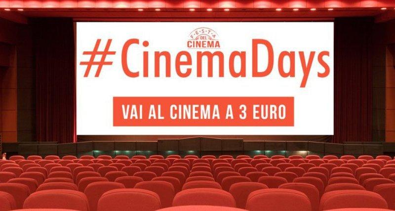 Torna il cinema a 3 euro, le date e le sale