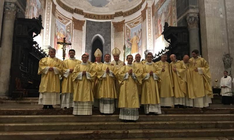 CATANIA: Ordinati sette nuovi diaconi, tra cui un Paternese