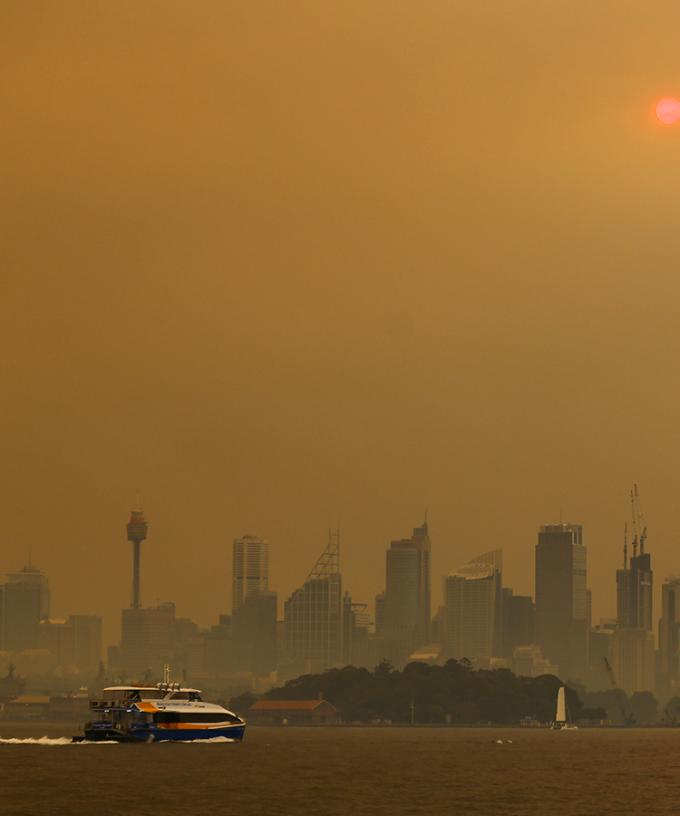 Total Fire Ban Issued As Fires Burn And Thick Smoke Haze