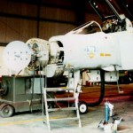 Phantom Radar being serviced at MPA, Falkland Islands