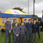 Cadets In Front of Recruitment Marquee