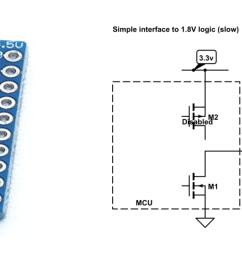 level shifter circuit diagram [ 1920 x 600 Pixel ]
