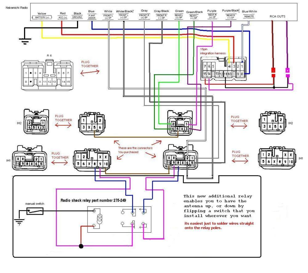 medium resolution of antenna relay diagram wiring diagram for a switch for a car stereo the peugeot 107