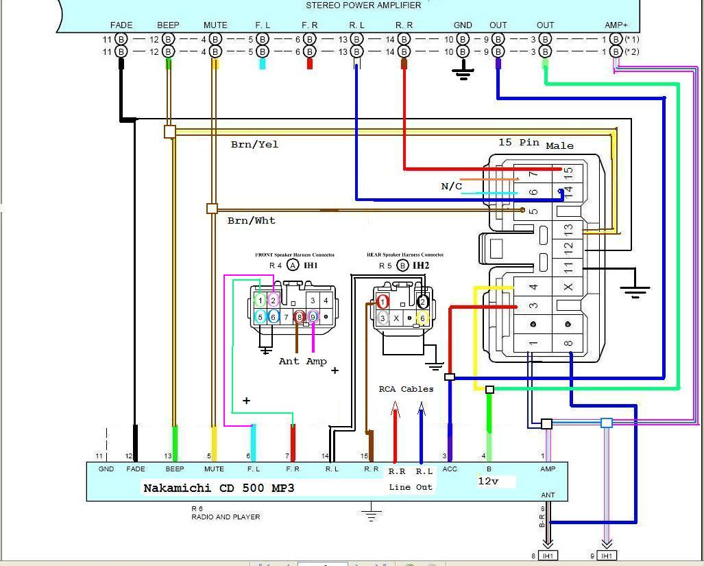 4a Wiring Harness Walker Mt23 Ghs Wiring Diagram