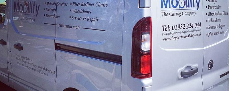 van sign writing shepperton
