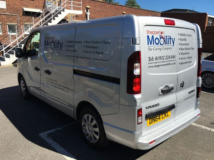 cut vinyl vehicle graphics for tradesmen