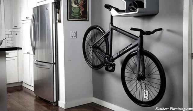 7 Ide Tempat Penyimpanan Sepeda untuk Rumah Tanpa Garasi