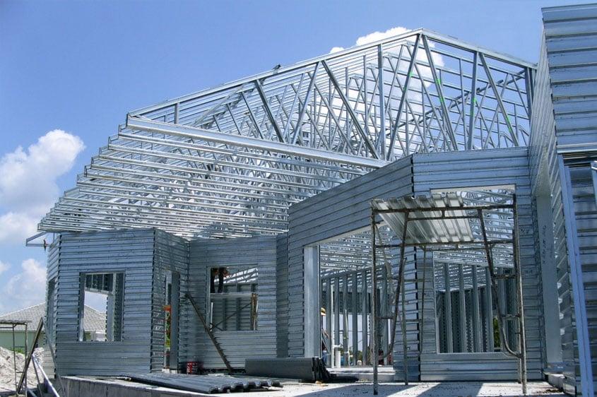 gambar rangka atap baja ringan limasan harga plus cara menghitung biaya pasang