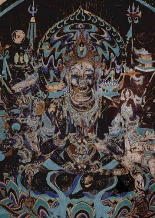 敦煌莫高窟:千手觀音像 - 9900 歷史頻道