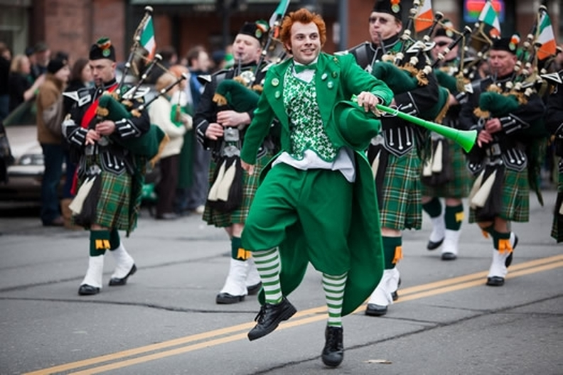Image result for newport ri st patrick's day parade