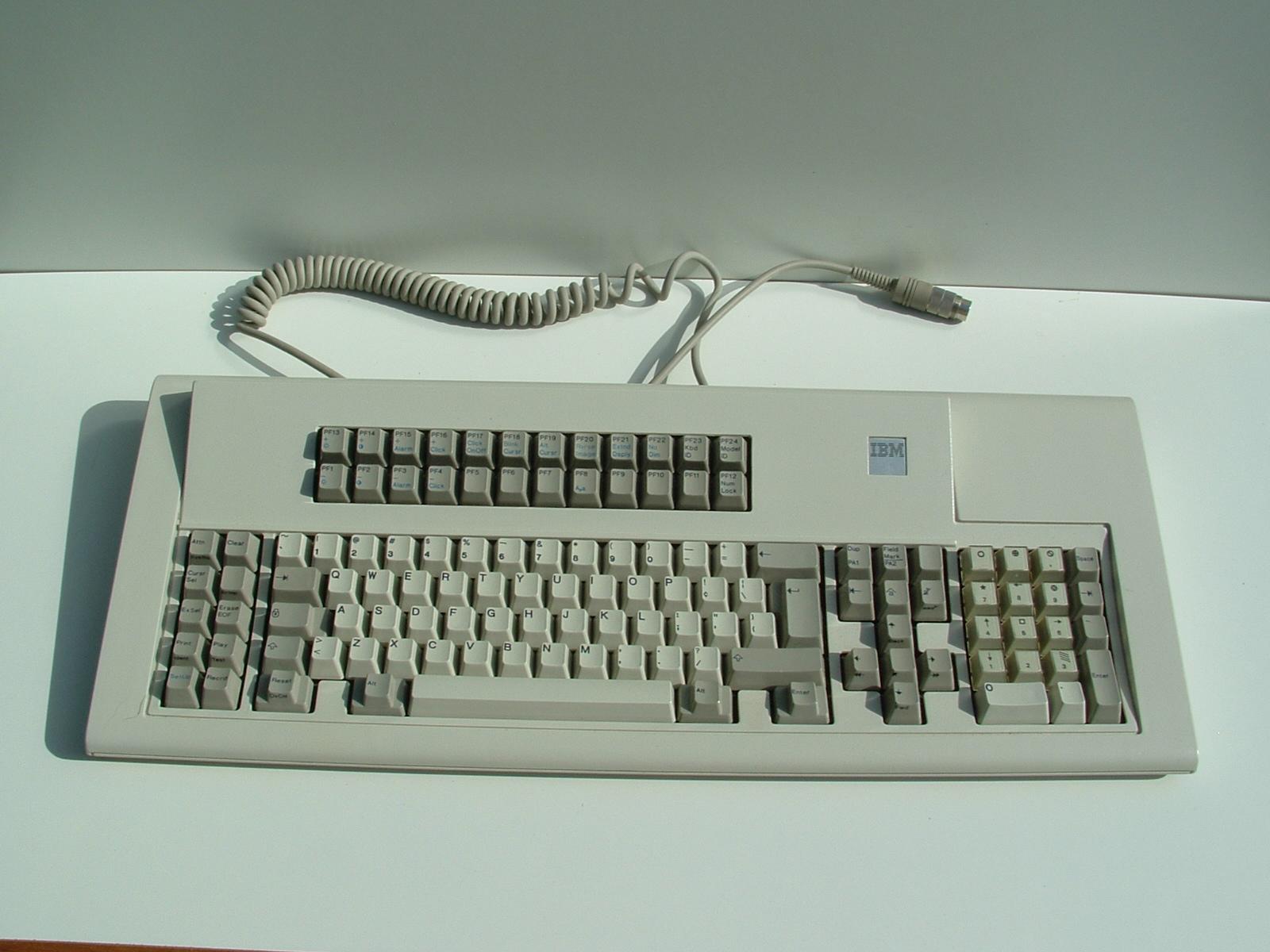 IBM keyboard page