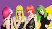 crazy color neon hair-dye