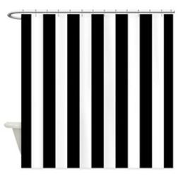Beautiful Black And White Shower Curtains Design Ideas 05