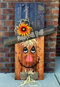 Easy But Inspiring Outdoor Fall Decoration Ideas 04