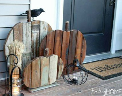 Easy But Inspiring Outdoor Fall Decoration Ideas 69