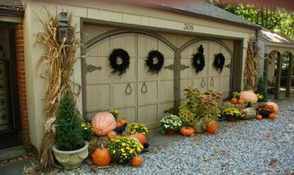 Easy But Inspiring Outdoor Fall Decoration Ideas 70