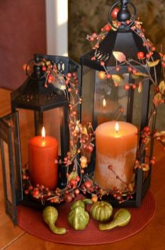 Easy But Inspiring Outdoor Fall Decoration Ideas 86