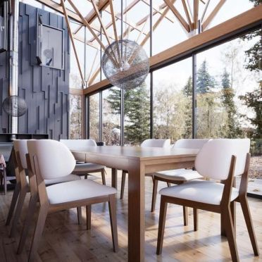 Inspiring Contemporary Style Decor Ideas For Dining Room 16