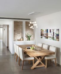 Inspiring Contemporary Style Decor Ideas For Dining Room 56