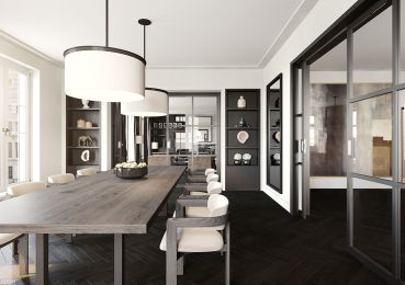 Inspiring Contemporary Style Decor Ideas For Dining Room 66