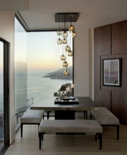 Inspiring Contemporary Style Decor Ideas For Dining Room 75