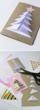 Easy And Creative DIY Christmas Tree Design Ideas You Can Try As Alternatives 29