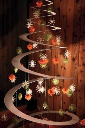 Easy And Creative DIY Christmas Tree Design Ideas You Can Try As Alternatives 50