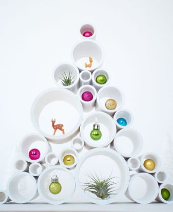 Easy And Creative DIY Christmas Tree Design Ideas You Can Try As Alternatives 85