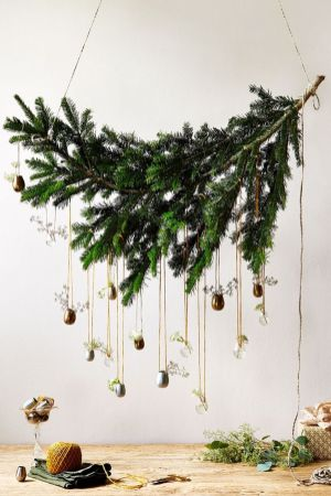 Elegant White Vintage Christmas Decoration Ideas 91