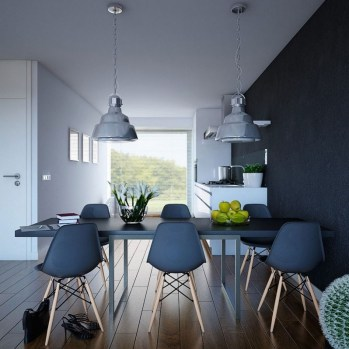 Inspiring Modern Dining Room Design Ideas 46