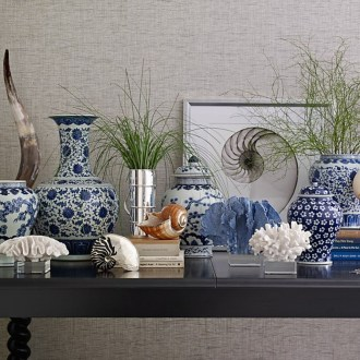 Modern Living Room Decoration Ideas Using Ginger Jars 55
