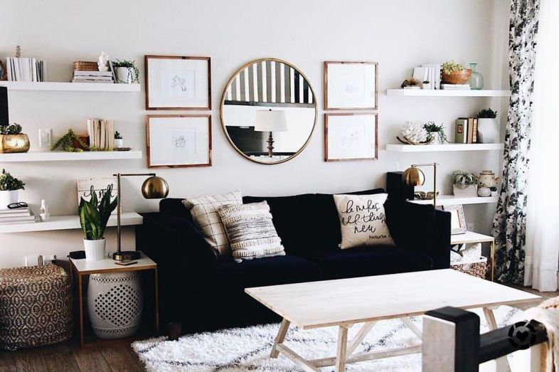 Modern And Elegant Living Room Design Ideas For Small Space 32