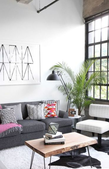 Modern And Elegant Living Room Design Ideas For Small Space 60