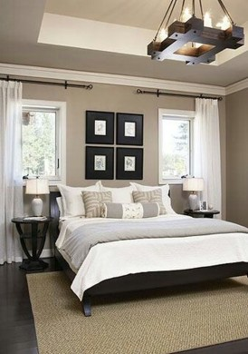 Modern And Elegant White Master Bedroom Decoration Ideas 23