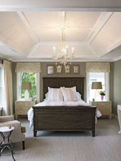 Modern And Elegant White Master Bedroom Decoration Ideas 77