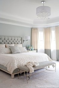 Modern And Elegant White Master Bedroom Decoration Ideas 87