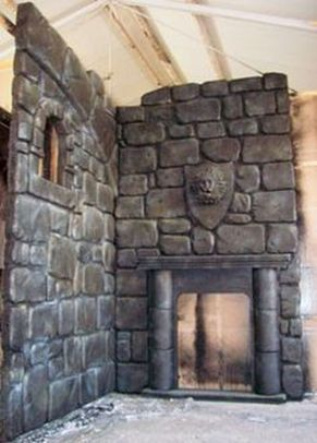 Scary But Classy Halloween Fireplace Decoration Ideas 08