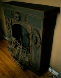 Scary But Classy Halloween Fireplace Decoration Ideas 69