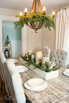 Stunning White Vintage Christmas Decoration Ideas 03