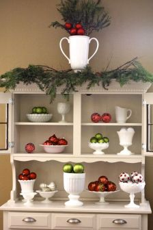 Stunning White Vintage Christmas Decoration Ideas 71