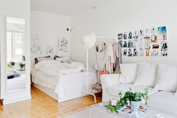 Totally Brilliant Bedroom Design Ideas For Small Apartment 58